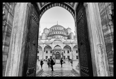 Enter Istanbul