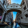 Bridge of Sighs in Venice Italy 3/24/19
