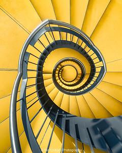Yellow spiral