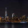 A Panoramic Shot of the Manhattan Skyline with the Statue of Liberty Aligned with the Empire State Building 6/9/17