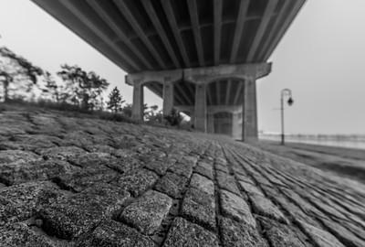 Foggy Morning Under Belmar Bridge 10/10/18