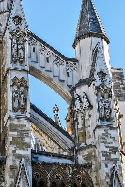 Detail of Westminster Cathedral, London, England