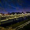 Foot Bridge of Lake, Spring Lake, NJ