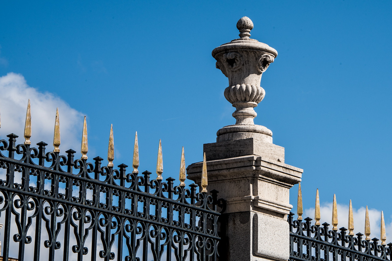 Royal Palace Fence Detail