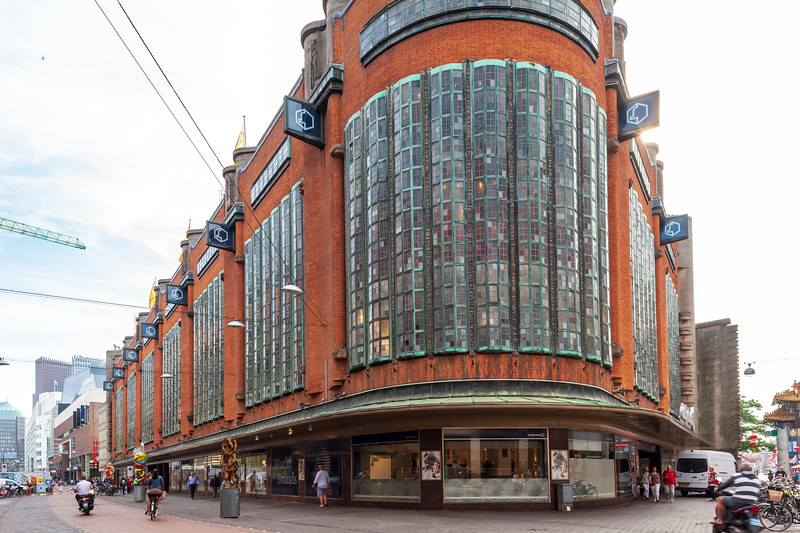 De Bijenkorf - Grote Marktstraat, The Hague.