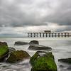 Stomry Skies Over Belmar Pier and Jetty Rocks 6/22/18