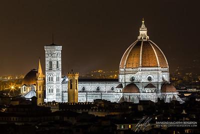 Il Duomo di Firenze || Florence, Italy  Canon EOS 6D w/ EF70-200mm f/2.8L USM: 200mm @ 30.0 sec, f/16, ISO 100