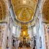 St. Peter's Basilica    Vatican City, Vatican City<br /> <br /> Canon EOS 6D w/ EF24-105mm f/4L IS USM: 24mm @ ¹⁄₂₅ sec, f/4, ISO 1600