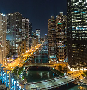 Chicago River Skyline 9/13/18