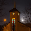 Full Moon Rising Over Church at the Gateway 2/10/17