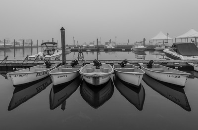 Foggy Morning at Belmar Marina 10/10/18