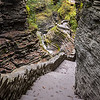 Staircase View in Watkins Glen State Park, NY 10/16/17