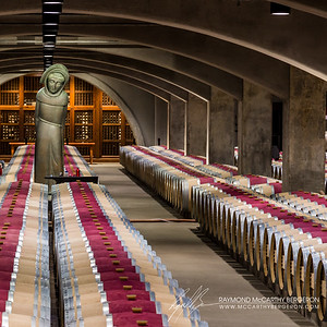 Robert Mondavi Winery || Oakville, California, USA  Canon EOS 6D w/ EF24-105mm f/4L IS USM: 105mm @ 0.3 sec, f/8, ISO 800