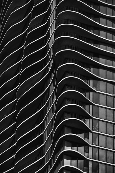 Aqua Building - Chicago<br /> 225 N Columbus Dr.<br /> Architect - Jeanne Gang