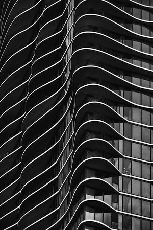 Aqua Building <br /> 225 N Columbus Dr., Chicago<br /> Architect: Jeanne Gang