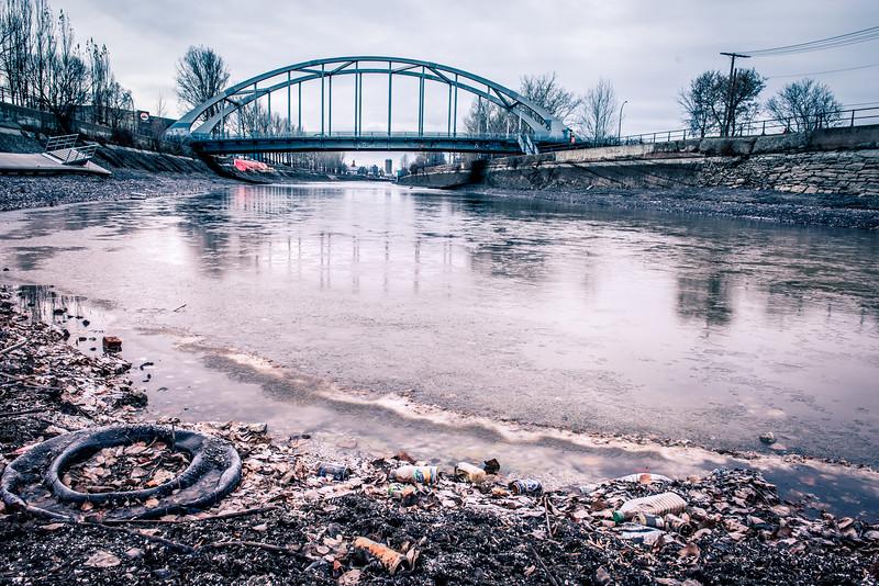 Au fond du Canal, les restes d'une Ville