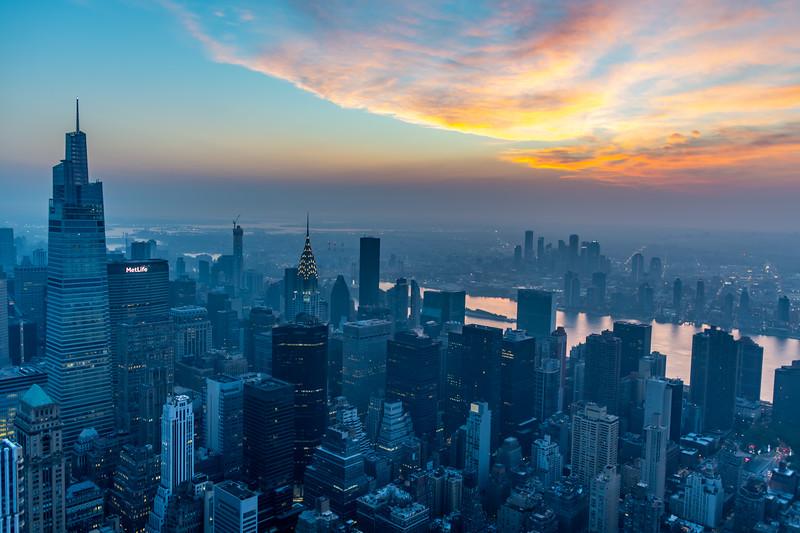 Sunrise Over Manhattan 9/25/20