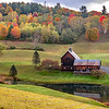 An Autumn Scene at Sleepy Hollow Farm, VT 10/10/19