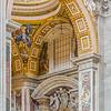 St. Peter's Basilica    Vatican City, Vatican City<br /> <br /> Canon EOS 6D w/ EF24-105mm f/4L IS USM: 55mm @ ¹⁄₁₃ sec, f/4, ISO 800