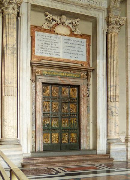 Holy Door, St. Peter's Basilica