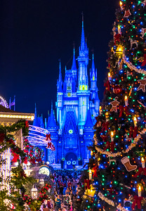 Christmastime at Walt Disney World 11/16/17