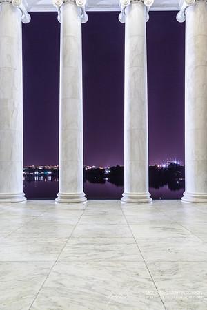 Thomas Jefferson Memorial || Washington, D.C., USA  Canon EOS 6D w/ EF24-105mm f/4L IS USM: 24mm @ 15.0 sec, f/10, ISO 100
