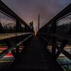 Foot Bridge Over The Garden State Parkway 4/27/18