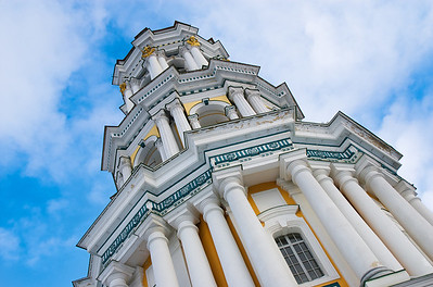 The Great Lavra Belltower of Kiev Pechersk Lavra. Kiev, Ukraine.