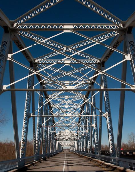 Trinity River Bridge Trinity, TX