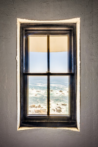 Lighthouse Window, Study 4, Point Arena Lighthouse