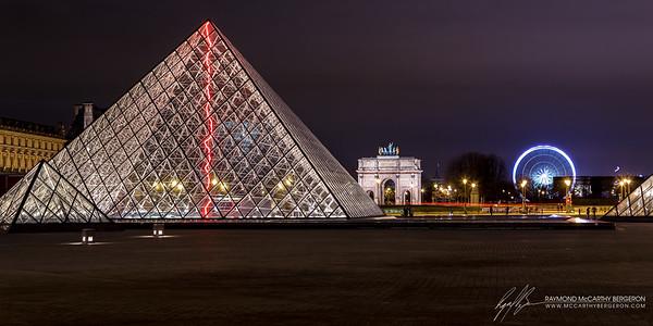 Louvre || Paris, France  Canon EOS 6D w/ EF24-105mm f/4L IS USM: 60mm @ 4.0 sec, f/6.3, ISO 100