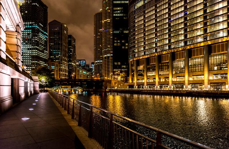Riverwalk Along Chicago River 9/13/16