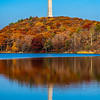 An Autumn Reflection Of High Point Monument 10/22/20