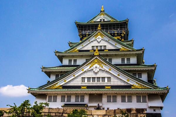 Osaka Castle,Japan