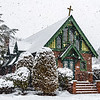 A Snowy Scene At St. Catherine's Chapel 2/7/21