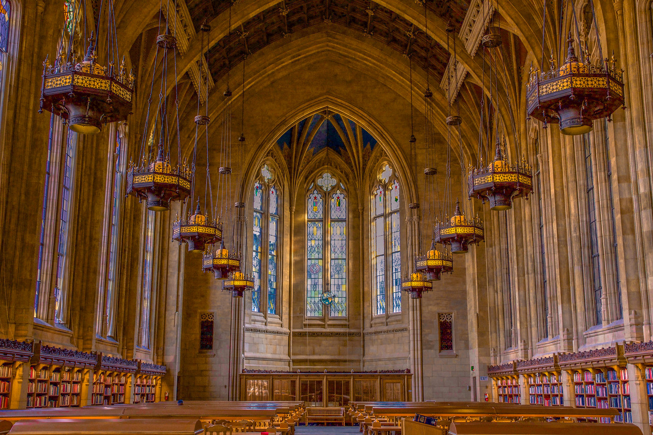 Spectacular Suzzallo Library