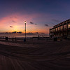 Predawn Colors Over Asbury Park Boardwalk 9/2/18
