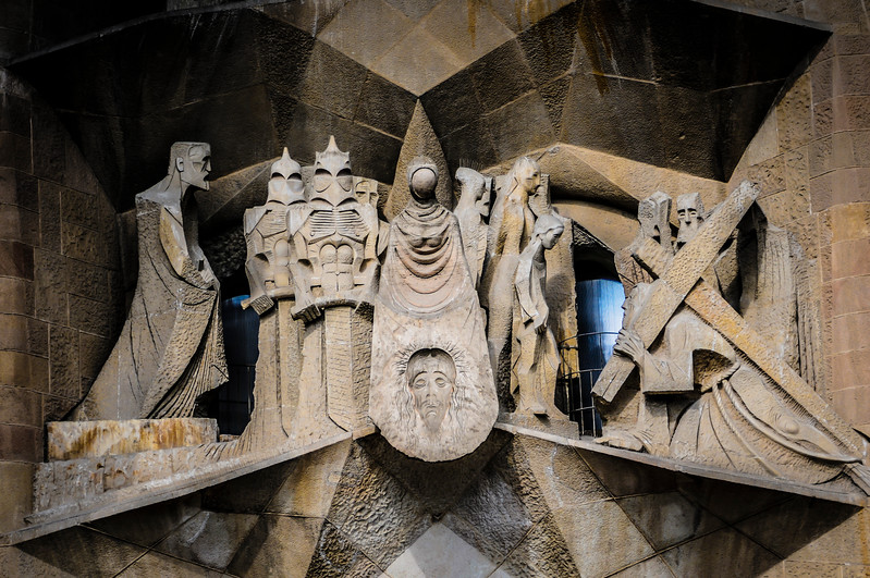 Scene at Sagrada Familia