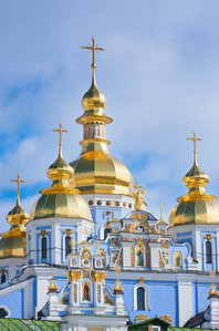 St. Michael's Golden-Domed Monastery. Kiev, Ukraine.
