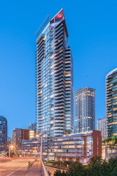 Residential Tower, Downtown Vancouver