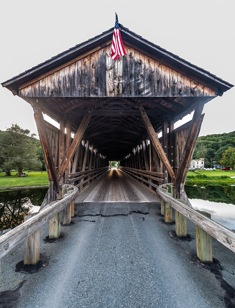 Downsville Covered Bridge 8/23/19
