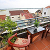 Hotel roof room with terrace