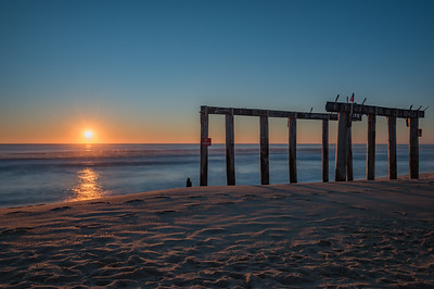 Ocean Grove Pier Sunrise 11/25/17