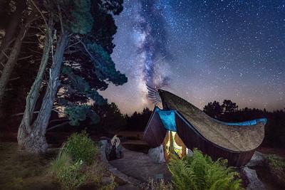 Sea Ranch Chapel & Milky Way, Sea Ranch, California