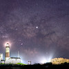 The Milky Way Galactic Core Rising Over The Montauk Lighthouse, Montauk, NY 5/7/19