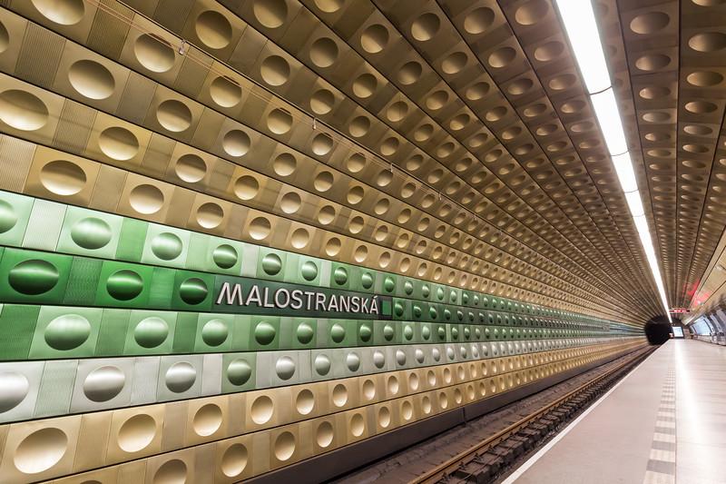 Malostranská subway station