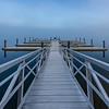 Foggy Morning at Manasquan Reservoir Boat Dock 11/2/17