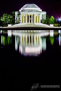 Thomas Jefferson Memorial || Washington, D.C., USA  Canon EOS 6D w/ EF24-105mm f/4L IS USM: 105mm @ 30.0 sec, f/18, ISO 100