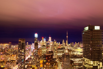 Warm Winter Night In Toronto