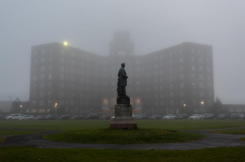 Foggy Morning Over Berkeley Hotel in Asbury Park 7/3/18
